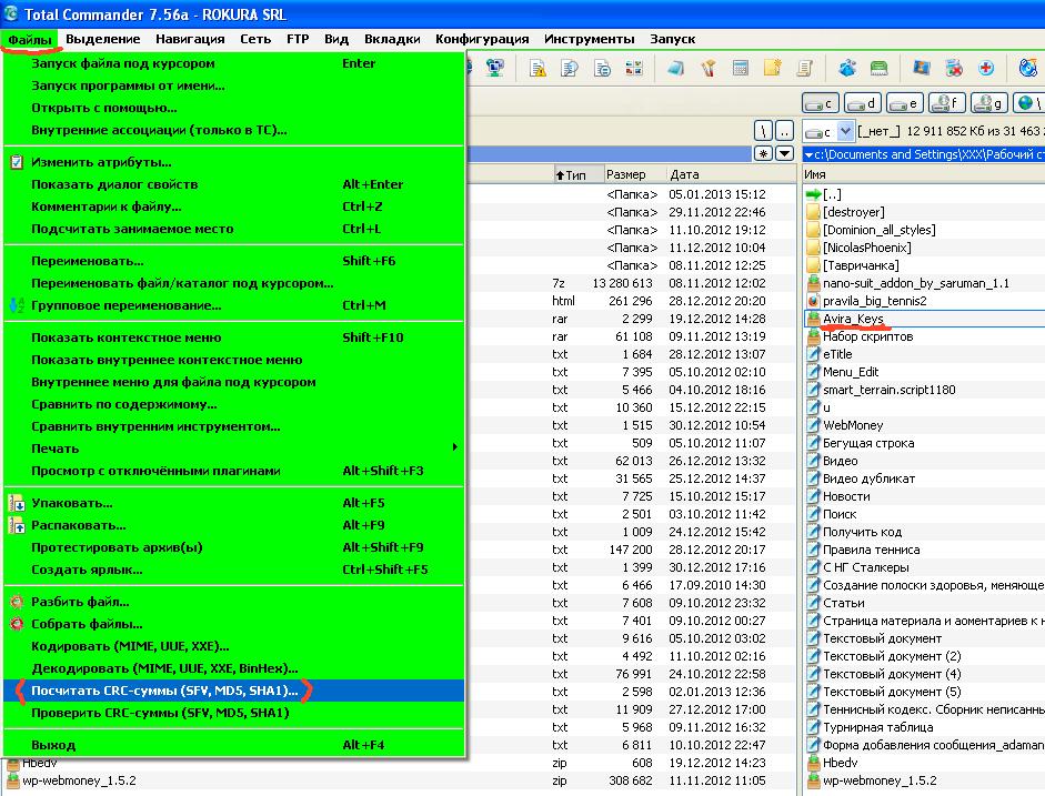 Как открыть SFV файлы - Файлы с расширением SFV